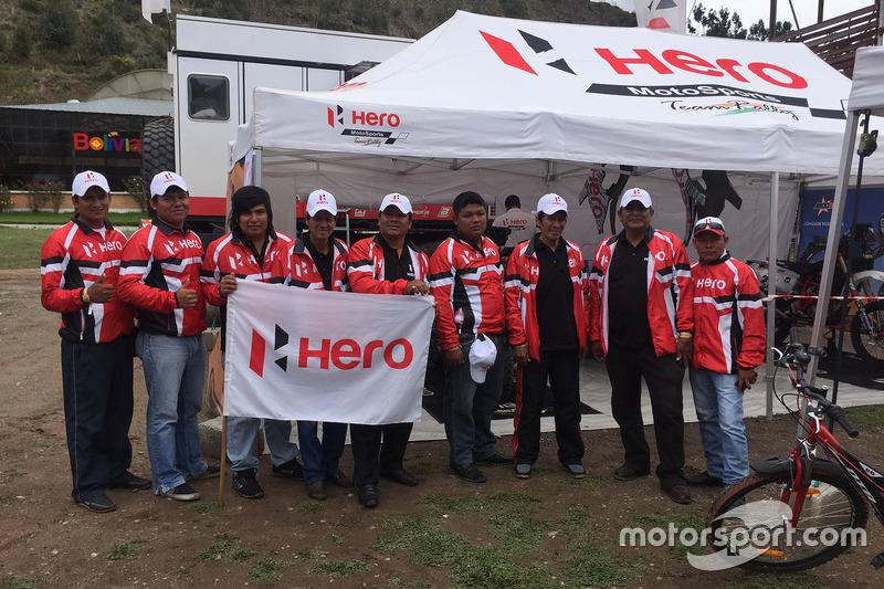 Fans de Hero MotoSports Team Rally