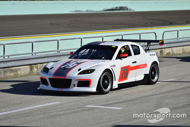 #79 MP1A Mazda RX-8 driven by Santiago Lozano & Sebastian Villamil of TR3 Performance