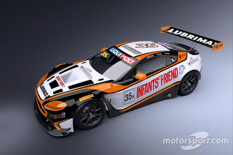 Презентація лівреї Miedecke Stone Motorsport