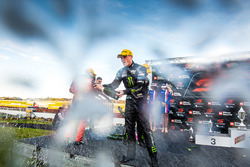 Podium: race winner Richie Stanaway, Prodrive Racing Australia Ford