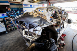 The car of Tim Blanchard, Brad Jones Racing Holden, Todd Hazelwood, Brad Jones Racing Holden