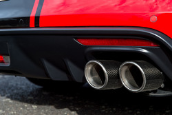 Tickford Ford Mustang: Auspuff