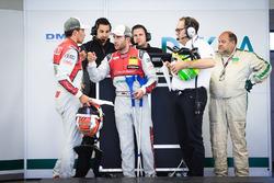 Loic Duval, Audi Sport Team Phoenix, Audi RS 5 DTM, Mike Rockenfeller, Audi Sport Team Phoenix, Audi
