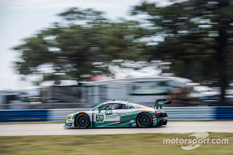 #29 Montaplast by Land-Motorsport, Audi R8 LMS GT3: Connor de Phillippi, Christopher Mies, Jules Gounon