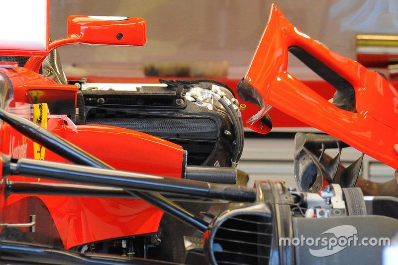 Ferrari SF70H: Detail