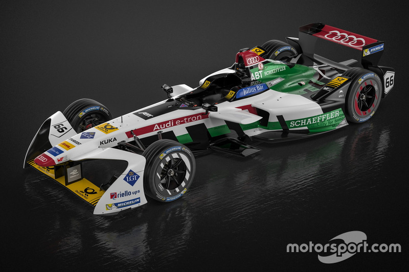 Daniel Abt, Audi e-tron FE04