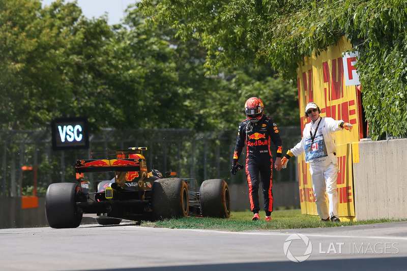 Abandon : Max Verstappen (Red Bull Racing)