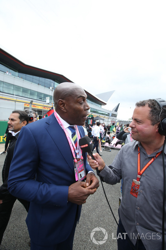 Frank Bruno, Boxer, Ted Kravitz, Sky Sports F1