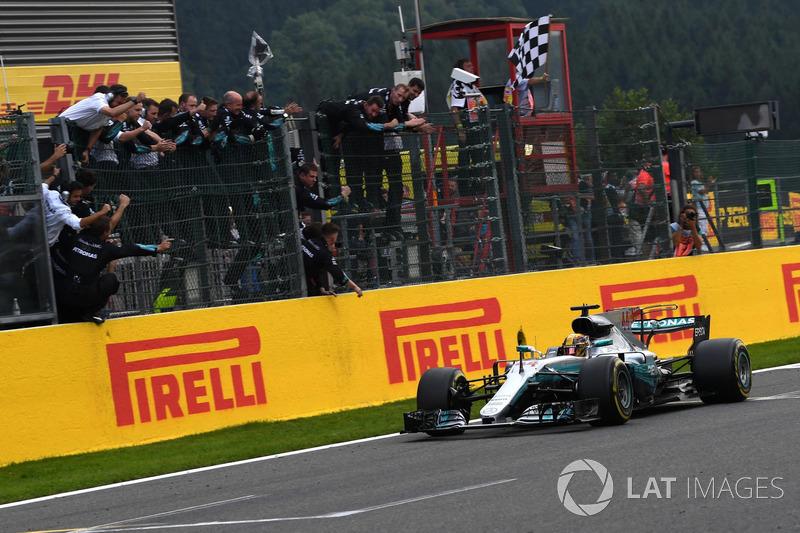 12º GP de Bélgica 2017 - Victoria para Lewis Hamilton, Mercedes