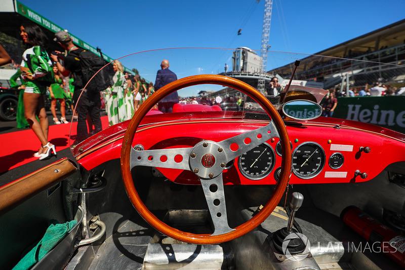 Classic FIAT steering wheel