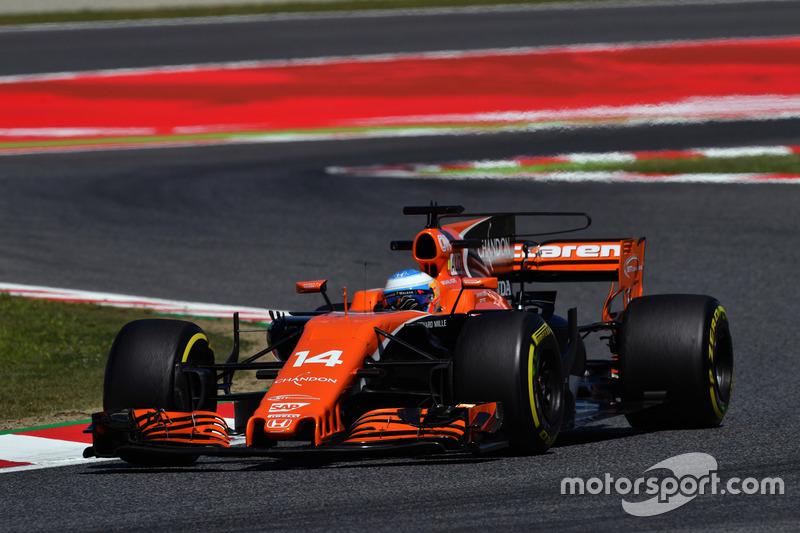 7. Фернандо Алонсо, McLaren MCL32