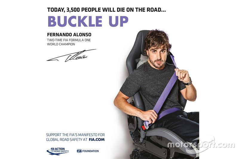 Fernando Alonso, pilote de F1