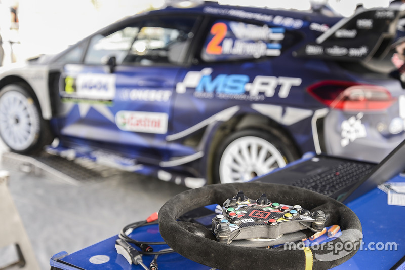 M-Sport Ford Fiesta WRC steering wheel