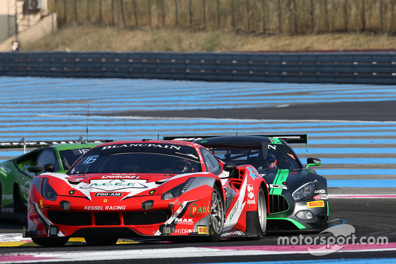 #888 Kessel Racing Ferrari 488 GT3: Jacques Duyver, Marco Zanuttini, David Perel