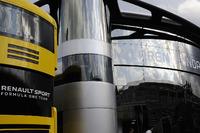 Renault Sport F1 Team motorhome and McLaren motorhome