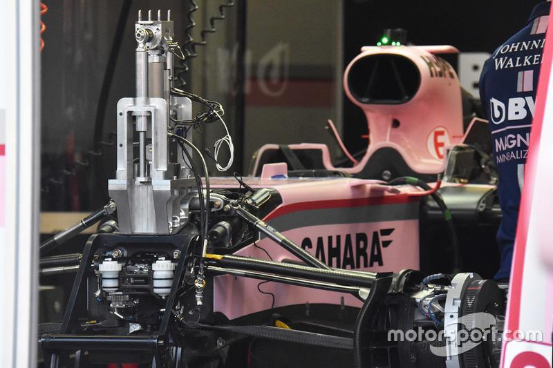 Sahara Force India VJM10 front detail