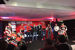 Team Ducati launch with Marco Melandri and Chaz Davies