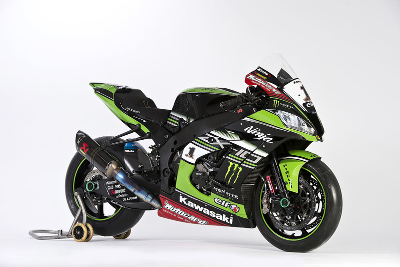 La moto de Jonathan Rea, Kawasaki Racing, Ninja ZX-10RR
