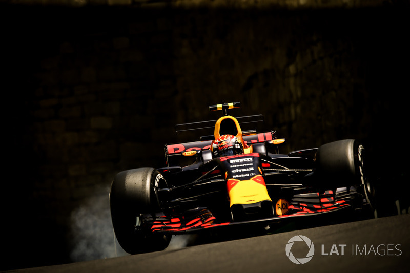 Verbremser: Max Verstappen, Red Bull Racing RB13