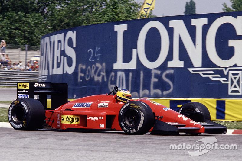 Michele Alboreto, Ferrari F187