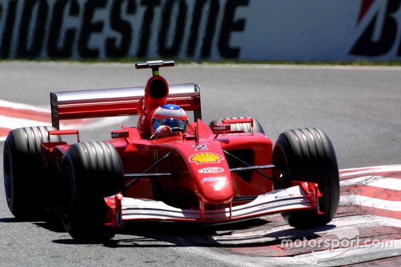 2001-2002 : Ferrari F2001