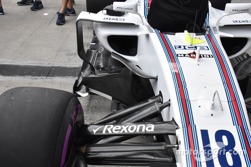 Sidepod del Williams FW40