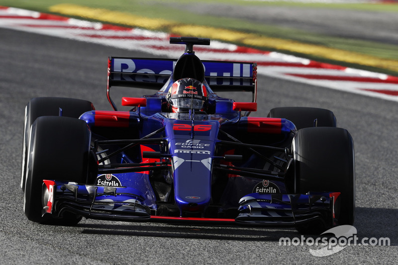 Даниил Квят, Toro Rosso (номер 26)