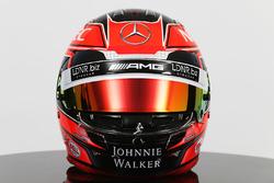 Helm von Esteban Ocon, Sahara Force India F1 Team