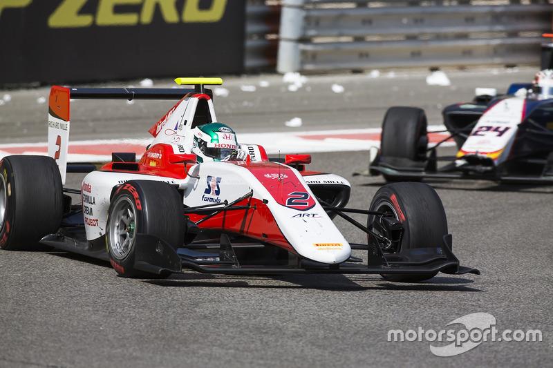 Nirei Fukuzumi, ART Grand Prix y Konstantin Tereschenko, Campos Racing