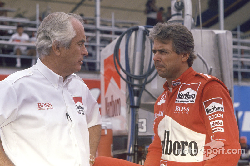 Rick Mears, Team Penske Chevrolet con Roger Penske