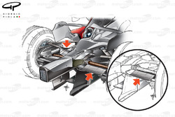 McLaren MP4-22 2007 rear suspension