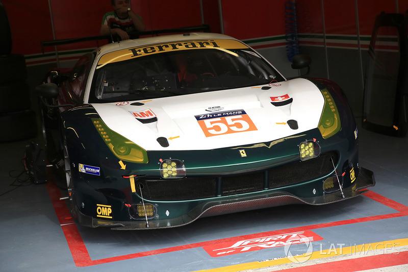 49. №55 Spirit of Race Ferrari 488 GTE: Данкан Кэмерон, Аарон Скотт, Марко Чьочи