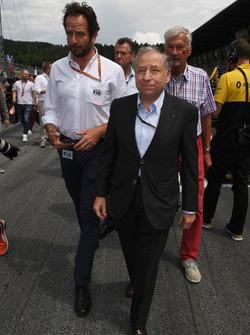 Matteo Bonciani, FIA Media Delegesi, Jean Todt, FIA Başkanı