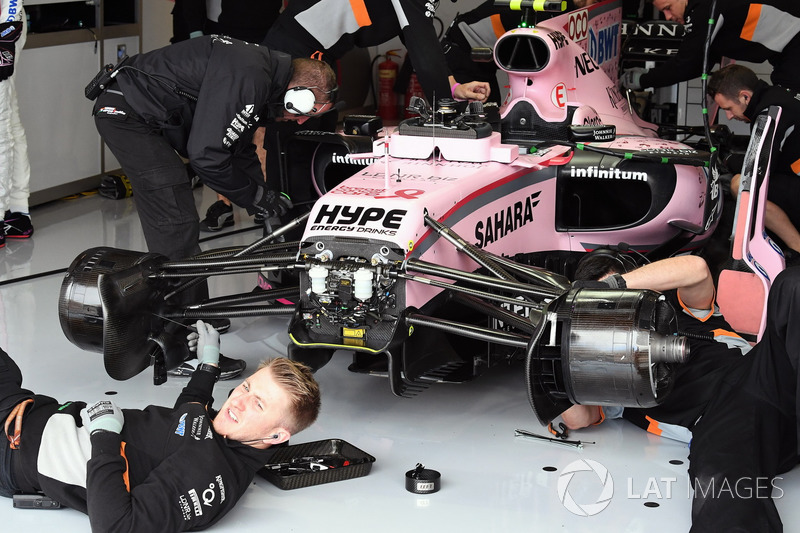 Sahara Force India VJM10 Естебана Окона