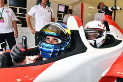 Zsolt Baumgartner, rijder F1 Experiences tweezitter