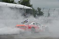 Race winner Kevin Lacroix