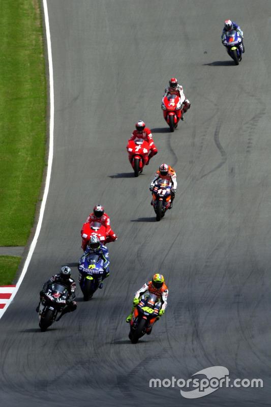 Valentino Rossi, Repsol Honda Team leads