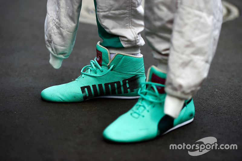 puma race boots worn by nico rosberg mercedes amg f1 at. Black Bedroom Furniture Sets. Home Design Ideas