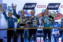 Podium: #1 Suzuki Endurance Racing Team, Suzuki GSX R 1000: Vincent Philippe, Anthony Delhalle, Etie