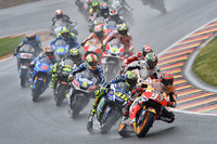 Marc Marquez, Repsol Honda Team leads at the start