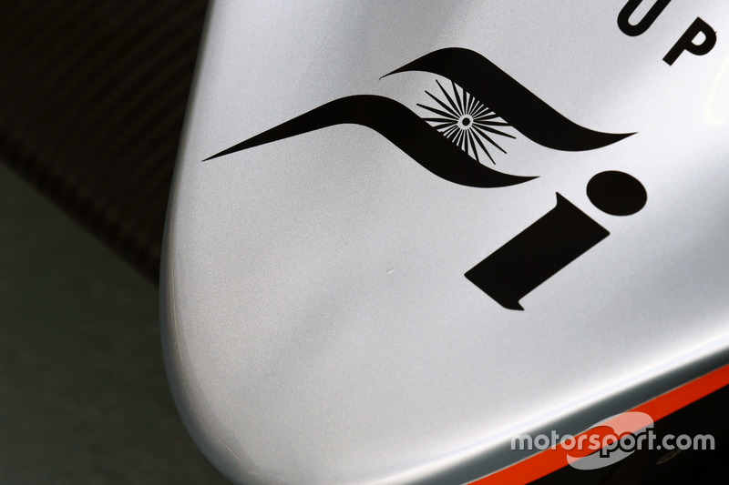 Sahara Force India F1 VJM09 nosecone