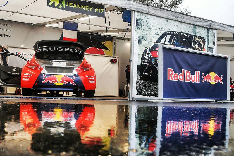 Car of Davy Jeanney, Team Peugeot Hansen