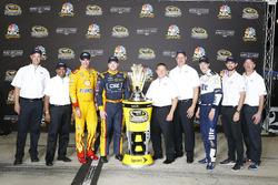 Ford Chase drivers: Joey Logano, Team Penske, Chris Buescher, Front Row Motorsports, Brad Keselowski, Team Penske