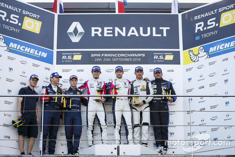 Podyum: 1. #2 R-ace GP Racing Renault RS01: Raoul Owens, Fredrik Blomstedt, 2. #21 Equipe Verschuur
