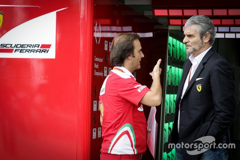 Maurizio Arrivabene, Ferrari Teamchef