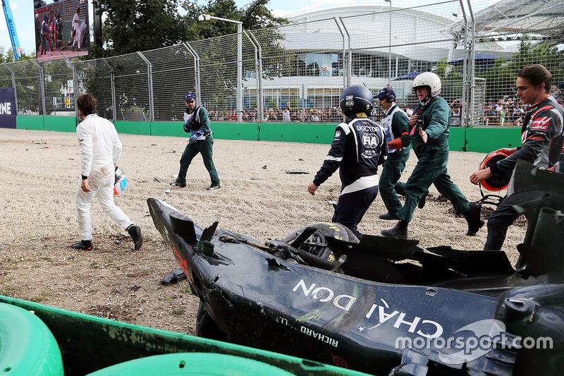 Acidente envolvendo Fernando Alonso e Esteban Gutierrez