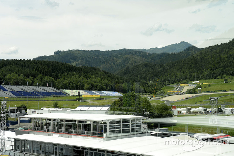 Overview of Red Bull Ring