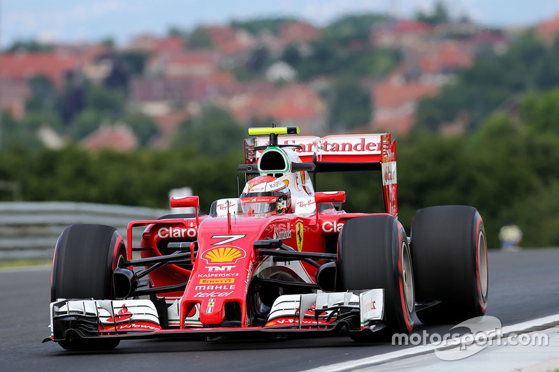 Kimi Raikkonen, Scuderia Ferrari