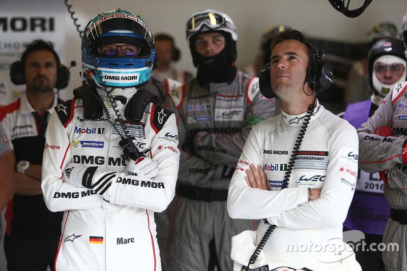 Romain Dumas, Marc Lieb, Porsche Team