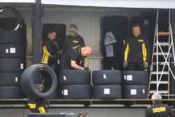 Pirelli tyres workers